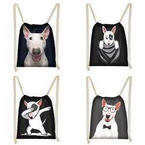 Twoheartsgirl Black Bull Terrier Women G