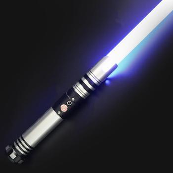 Espada de martillo pequeño brillante Lgt Saberstudio, sable de luz recargable de color infinito para entretenimiento de cosplay