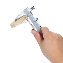 Профессиональный штангенциркуль из нержавеющей стали 0-150 мм, скользящий калибр, измерительный инструмент, измеритель глубины