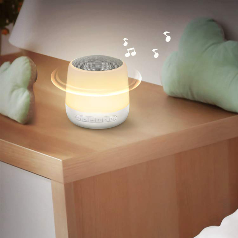 Baby Sound Machine White Noise Machine with Night Light 28 Soothing Sounds 32 Volume Levels Timer & Memory Function Night Light
