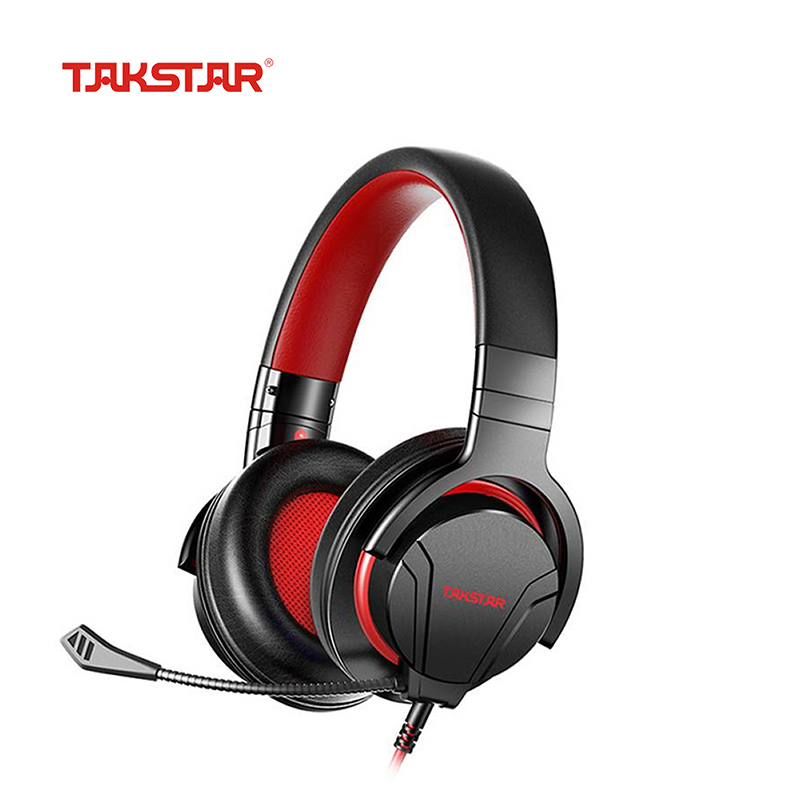 <font><b>Takstar</b></font> <font><b>GM200</b></font> Gaming Headset 3.5mm Wired Gamer Headphone with Surround Sound & HD Detachable Mic for Computer Laptop PS4 X-BOX image