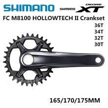 SHIMANO DEROE XT FC M8100 aynakol M8100 12 Speed 30T 32T 34T 36T 170MM 175MM
