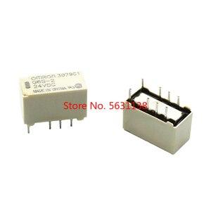 5 шт. 5 В/12 В/24 В реле G6S-2-5VDC G6S-2-12VDC 250VAC/DC220V 8PIN Мини реле сигнала 2А релейный модуль 3В реле