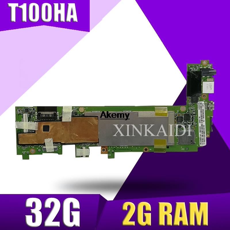 T100HA Motherboard 32G 2G RAM For ASUS T100H T100HA T100HN T100HAN Laptop Motherboard T100HA Mainboard T100HA Motherboard