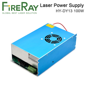 FireRay HY-DY13 100W Co2 Laser Power Supply For RECI Z2/W2/S2 CO2 Laser Tube Engraving and Cutting Machine DY Series hy t100 good quality high power co2 laser tube power supply laser machine for engraving and cutting