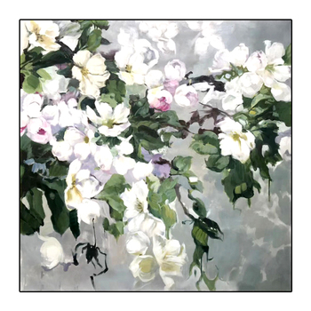 Oil Painting By Handpainted Modern Abstract Flower Canvas Painting Wall Art Pictures For Living Room Home Decor Gift Frameless
