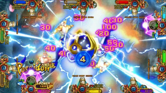 Hottest  Hunter 8 Player Casino Ocean King 3 Plus Poseidon's Realm 4