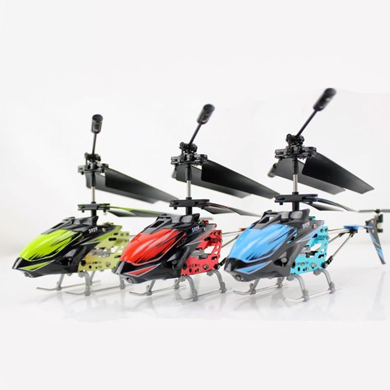 Weili S929 New Remote Control Aircraft 3.5 Channel Infrared Remote Control Helicopter Model Toy Drop-resistant