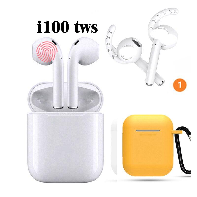 Vieille ville i100 tws sans fil sport Bluetooth 5.0 oreille téléphones subwoofer pk i14 tws 2019 i88 tws w1 puce 1: 1i100 i200
