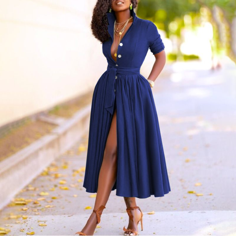 Robe élégante été femmes
