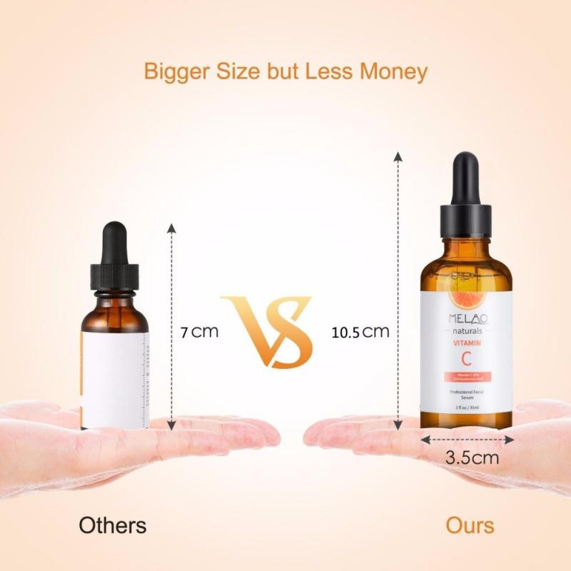 30ML Natural Vitamin C Serum Liquid Hyaluronic Acid Essence Moisturizng Anti Aging Anti Wrinkle Serum for Skincare TSLM2
