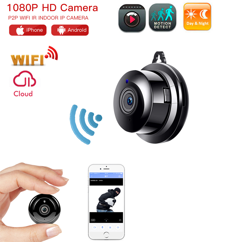 Wifi Camera HD 1080P Mini Wireless IP Camera Night Vision Mini Camcorder Kit For Home Security CCTV Micro Camera Baby Monitor
