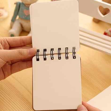 1 Pcs/lot New Kebaruan Vintage Mr Kumis Seri Kertas Kraft Notebook DIY Blank Style Weekly Planner Scratchbook Papelaria