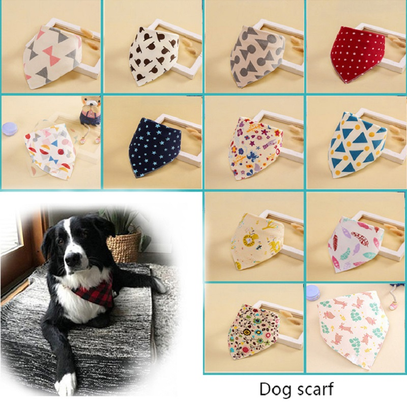 Dog Bandana Scarf Rabbit Lion Costume Styling Dog Accessories Saliva Towel Small Medium And Large Pet Grooming Supplie