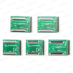 Image 4 - أدوات اختبار اللوحة الأم للتلفاز TV160 6th محول Vbyone & LVDS إلى HDMI مع محول سبعة + مبرمج هدية EZP2019