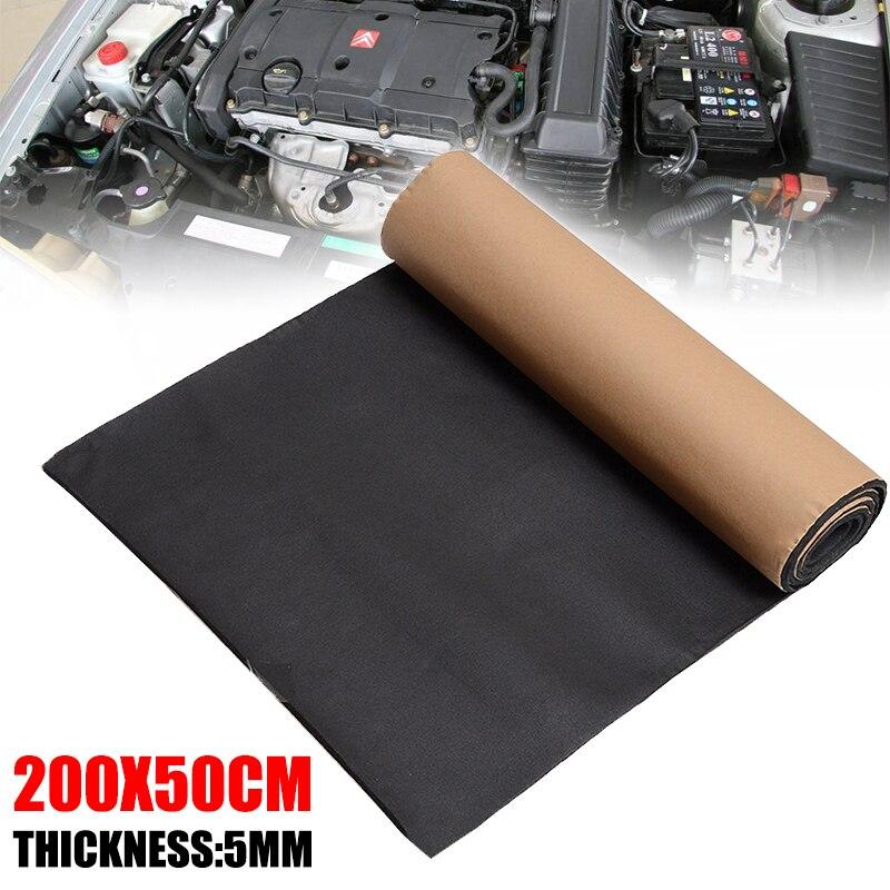 200 50cm Car Sound Proofing Deadening Heat Insulation Foam Cotton Mat Insulation Deadening Mat Hood Closed Cell Foam in Sound Heat Insulation Cotton from Automobiles Motorcycles