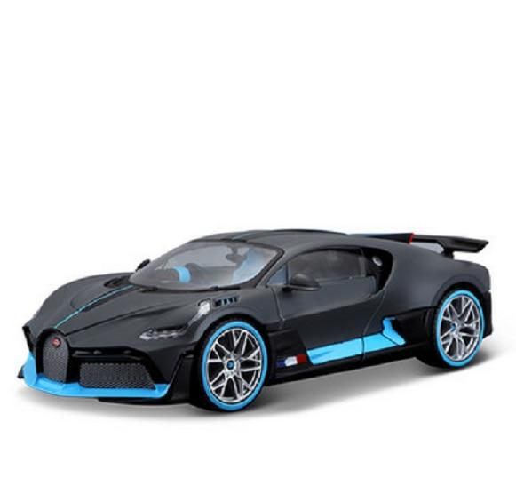 Bburago 1:18 Bugatti Chiron Divo Diecast Modelo De Veículo Carro De Corrida Novo Na Caixa