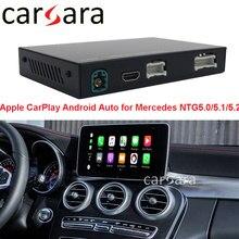 Module CarPlay sans fil, Console, boîte noire, décoration pour système A CLA GLA B C E GLE GLK SLK G Class NTG5.0 5.1 5.2