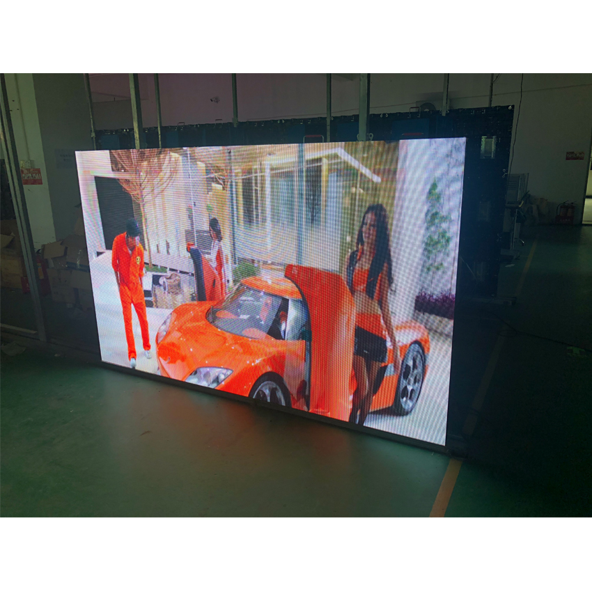 Outdoor HD P3.91 SMD1921 128*128dots 500x500mm Cabinet Rental Full Color LED Display For LED Video Wall, Advertising Billboard Screen