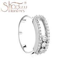 Bague en argent Sterling 925 et Zircon CZ pour femme, bijou tendance de haute qualité, fabrication française