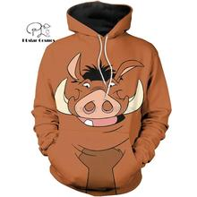 PLstar Cosmos animal COOL WARTHOG 3d hoodies/shirt/Sweatshirt Winter autumn funny Harajuku streetwear