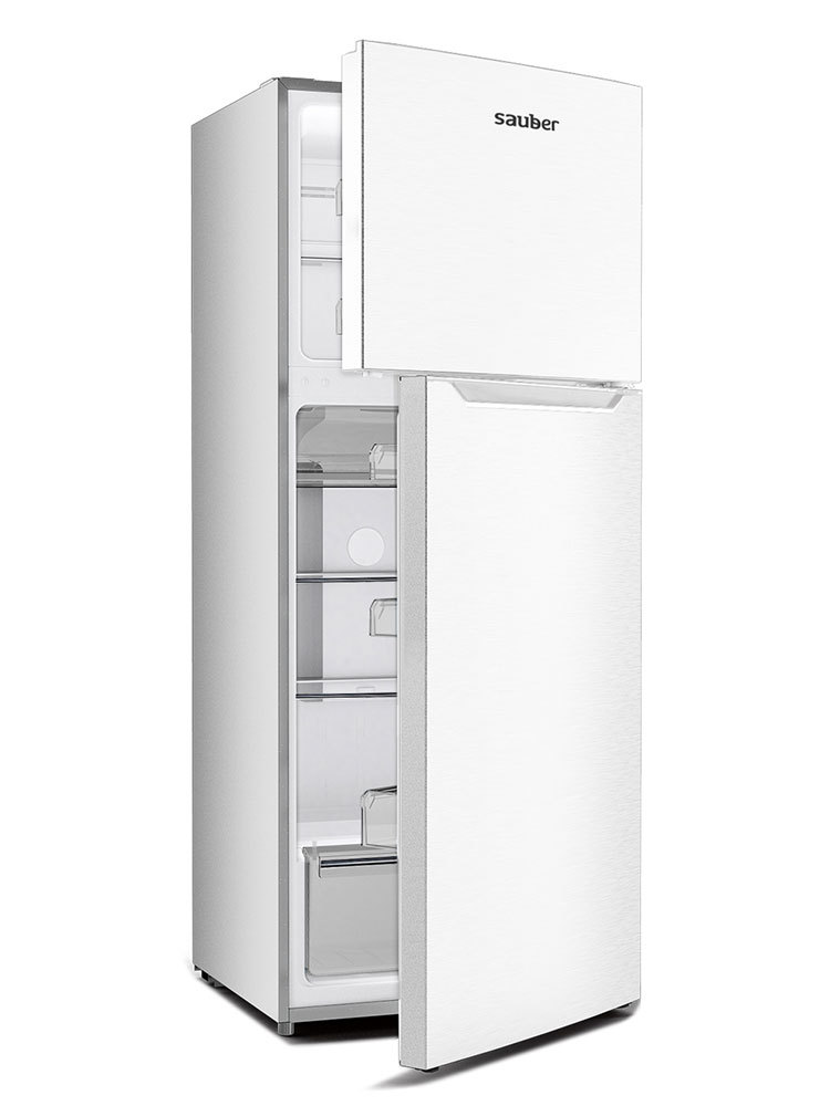 Refrigerator Two Number Doors Sauber Sc177B Nofrost A + High 177 Cm Wide 70 Cm White