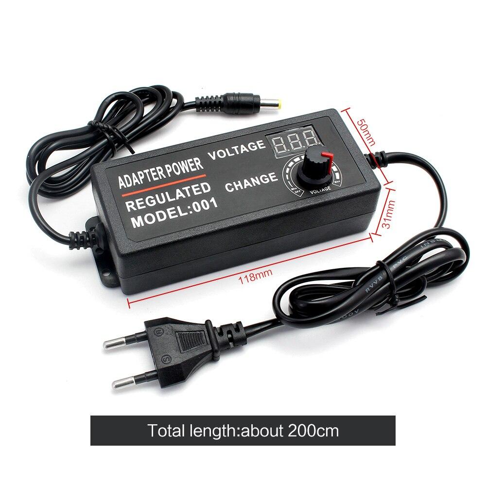 Regulowany AC do DC 3V 9V 12V 24 V uniwersalna moc zasilacz ekran wyświetlacza ładowarka zasilacz 220V do 3 9 12 24 V Volt