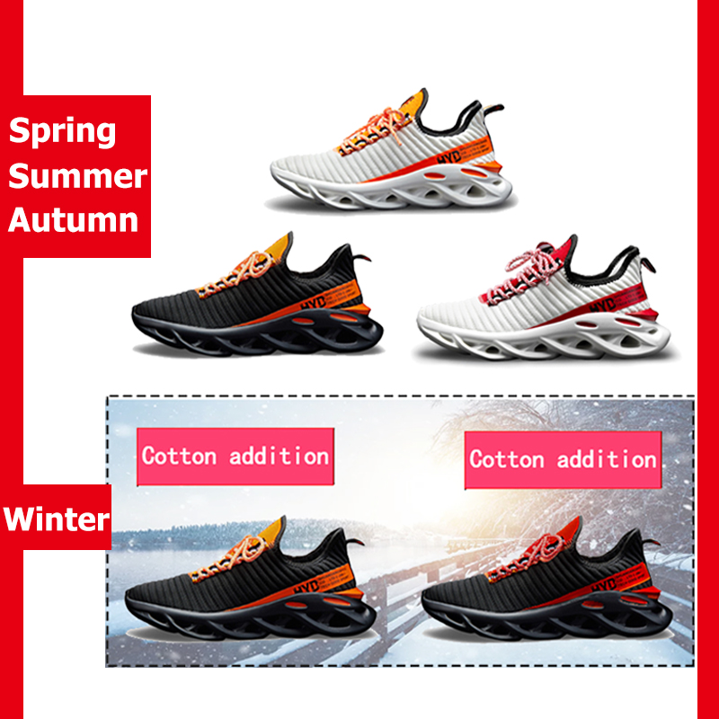 Breathable Running Cotton Shoes 48 Light Men's Sports Shoe 47 Large Size Sneakers 45 Fashion Women's Couple Jogging Casual Shoes 2
