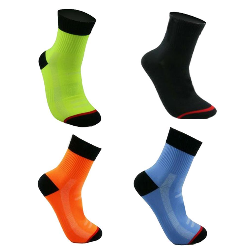 UK/_ Unisex MTB Cycling Riding Running Sport Basketball Breathable Long Tube Sock