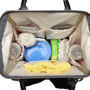 Image 4 - Leopard Diaper Bag Waterproof Maternity Bag Nappy Bags Large Capacity Baby Backpack Bag Travel Mummy Bag Nursing Bag