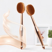 2019 New 1 PC Makeup Brush Toothbrush The Mermaid Foundation Oval Brushes