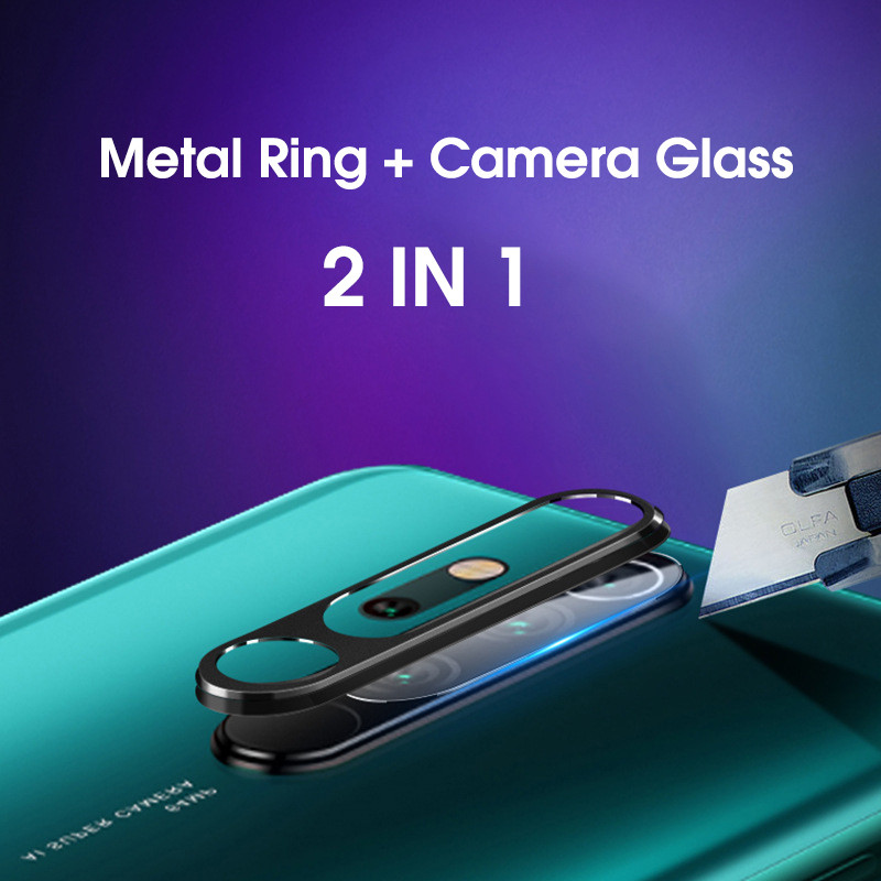 <font><b>Camera</b></font> Lens Protective Metal Ring Tempered Glass For <font><b>Xiaomi</b></font> <font><b>mi</b></font> <font><b>9t</b></font> Pro A3 Redmi Note 8 7 Redmi K20 Pro Screen <font><b>Protector</b></font> Case image