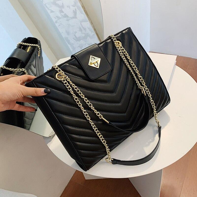 Зимняя большая сумка через плечо, женские дорожные Сумки из искусственной кожи, качественная сумка, женские роскошные сумки, женские сумки, ...