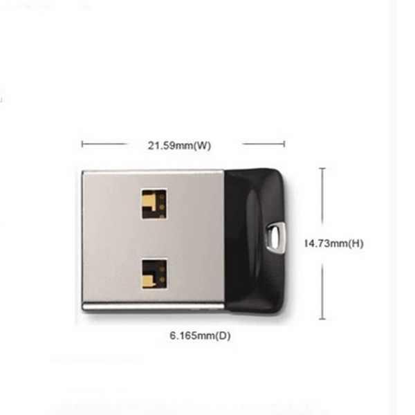 แฟลชไดรฟ์ Super Mini USB ไดรฟ์ 16GB 8GB 32GB Pendrive 64GB 128GB USB Flash ความเร็วสูงไดรฟ์ปากกาแฟลชหน่วยความจำ USB Stick ไดรฟ์ปากกา