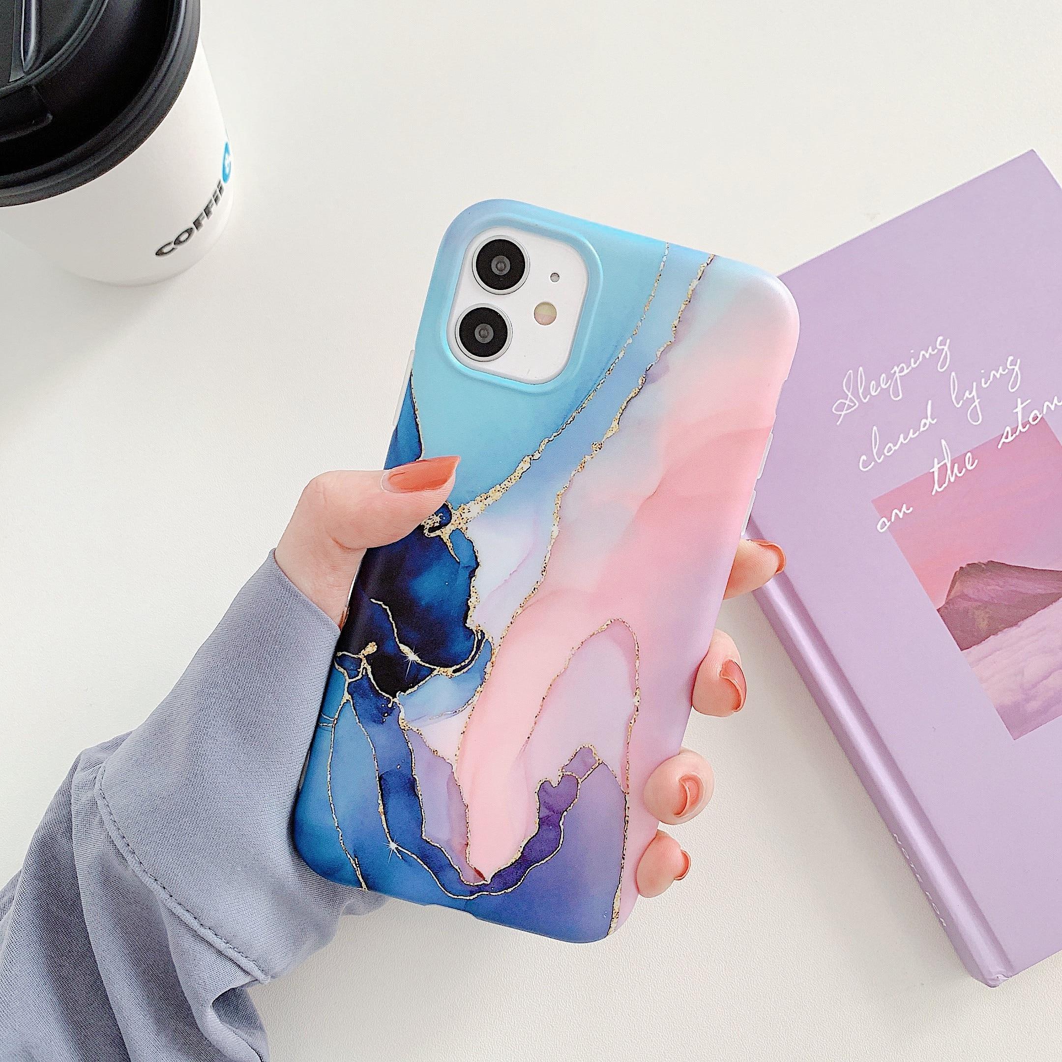 Hb638efb1436940eda8eeb06a97cb8295e Capinha celular case Mármore rachadura matte casos de telefone para iphone 12 mini 11 pro max se 2020 xs max xr x 7 8 plus capa de silicone macio tpu imd volta