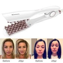 Hair Crimper Krultang Iron Curling Irons For Women Men Corn Splint Plaid Roll Hairstyle Fluffy Dual-purpose