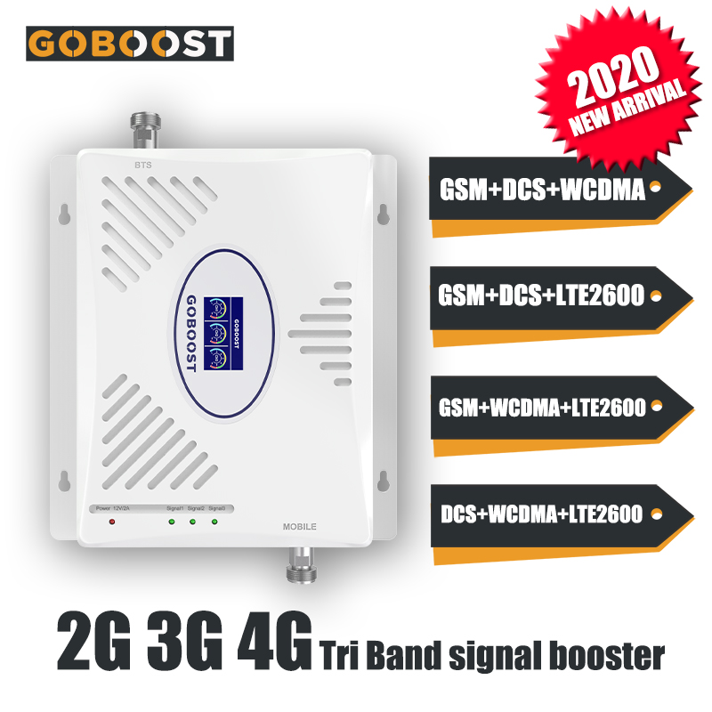 2G 3G 4G Repeater ALC Cellular Signal Booster 900 1800 2100 2600 LTE 4G DCS GSM WCDMA LTE2600 UMTS Mobile Signal Booster Repeate