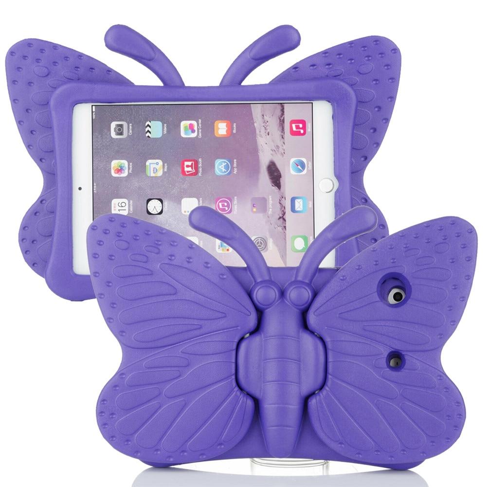 Mauve Mauve for iPad Air 4 Case 2020 A2316 A2324 EVA Safe Kids Handle Stand Tablet Case Cover