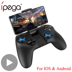 Control Bluetooth Joystick for Android Smart TV Box PC Phone Gamepad Pubg Controller Mobile Trigger Joypad VR Game Console Pad(China)