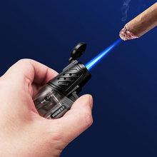 Honest фонарь turbo зажигалки смешная прозрачная газовая зажигалка