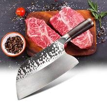 Кованый кухонный нож ручной работы 75 дюйма шеф повара из стали