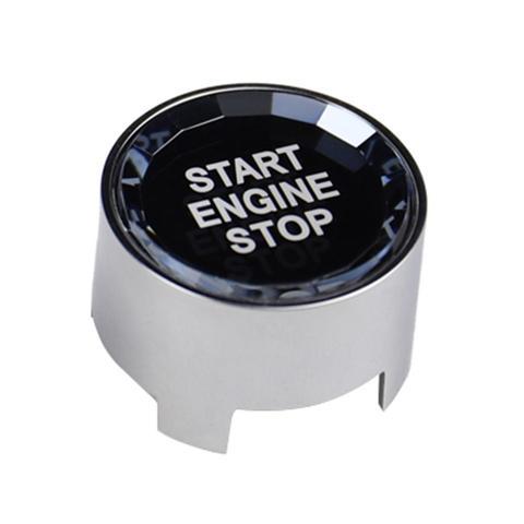 botao de partida do motor do carro tampa de cristal estilo one chave start stop