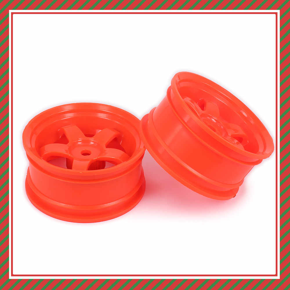 2PCS 5 10 Spoke Plastic Velg w/o Band band Voor Rc Auto 1/10 On Road Racing crawler Drift Auto HSP Himoto HPI Toy Spare Y Type