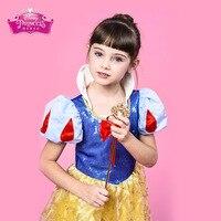 Girls Clothes Disney Children's Snow White Skirt Dress Primary School Student Dress Performance Costume Skirt Kids Clothes