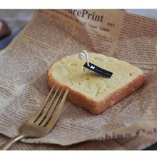 Toast bread silicone mold biscuit cake chocolate aroma candle mold home decoration