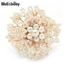 Flower Brooch Jewelry Women Sweater Pins Gift Wuli Luxury And Baby Handmade Handmade