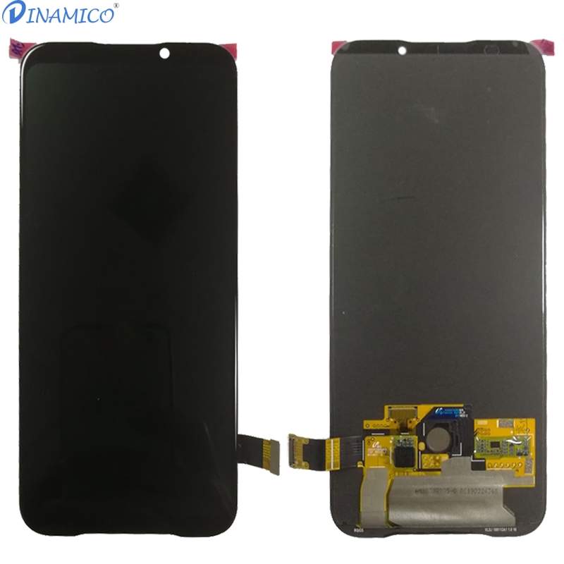 Image 3 - Dinamico For Xiaomi Black Shark 2 Lcd Display Screen +Touch Glass Digitizer Assembly Replacement Parts Black Shark Helo Lcd-in Mobile Phone LCD Screens from Cellphones & Telecommunications