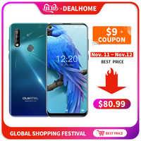 Oukitel C17 Triple Posteriore Telecamere 6.35 Smartphone MT6763 Octa Core Android 9.0 3GB 16GB 3900mAh di Impronte Digitali viso ID Del Telefono Mobile