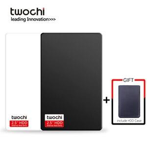 Twochi A1 USB3.0 2.5 ''Externe Harde Schijf 80 Gb 120 Gb 160 Gb 250 Gb 320 Gb 500 Gb opslag Draagbare Hdd Disk Plug En Play Voor Pc/Mac(China)