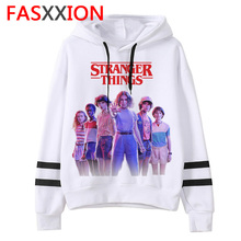 Stranger Things Season 3 Hoodie men/women Harajuku eleven Sweatshirts funny Kawaii Korean Oversized